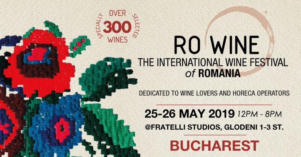 RO WINE International Wine Festival a Bucharest